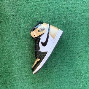 """Jordan 1's """"Gold Toe"""""""
